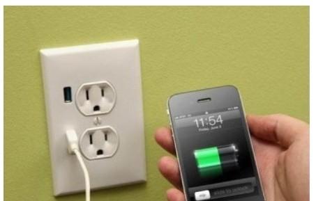 usb插座造型/直接手机充电接口